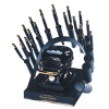 RAINBOW DEAL STAND/STOVE/10 IRONS-BLACK