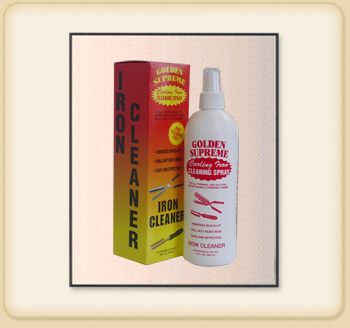 IRON CLEANER SPRAY 16 OZ